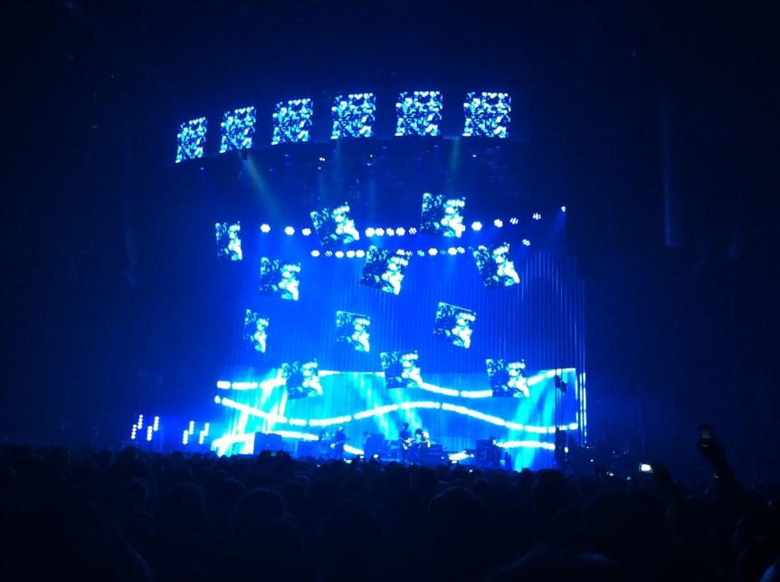 Radiohead Concert, Sydney Entertainment Centre